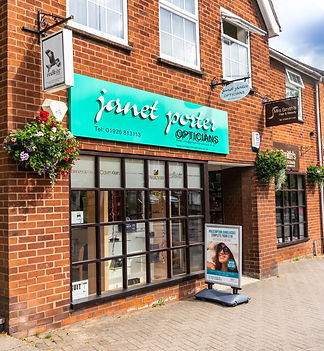 Opticians in Southam Janet Porter