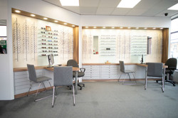 Makerfield Eye Centre Display Area