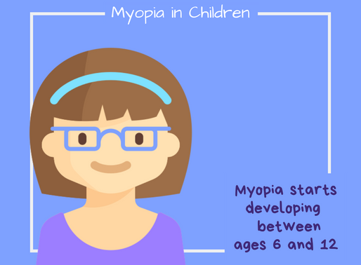 Myopia in Children: Are your kids nearsighted?