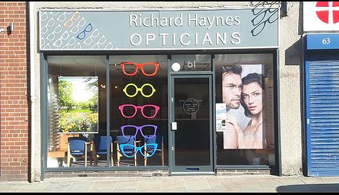 Richard Haynes Opticians exterior