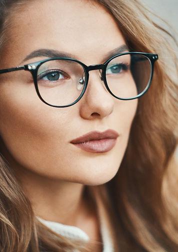 fashionable eyewear model