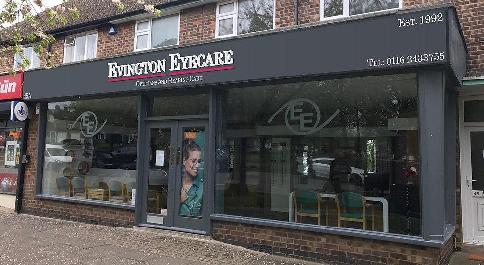 Evington Eyecare Exterior