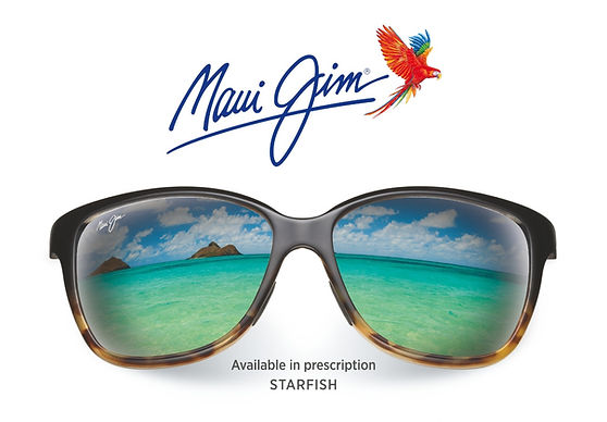 Maui Jim Glasses Available in prescription STARFISH