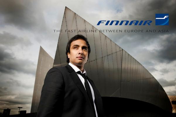 Imran Hakim for Finnair