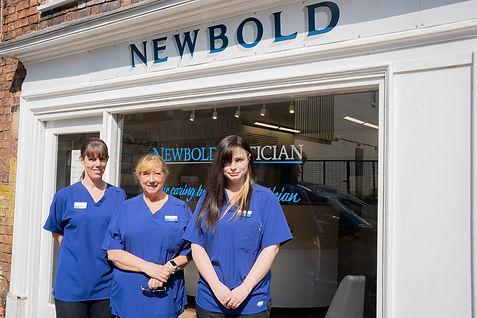 Newbold Optician Team Members