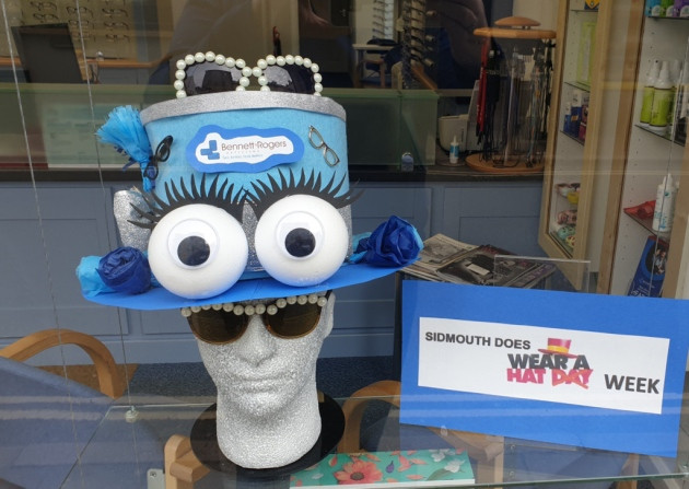 Sidmouth Wear a Hat competition 2020