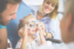 kids eye test checking childrens vision