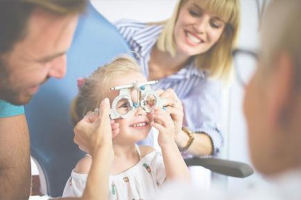 kids eye test checking childrens vision