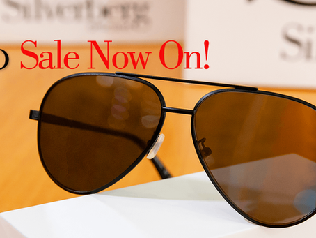 Silverberg sale now on!