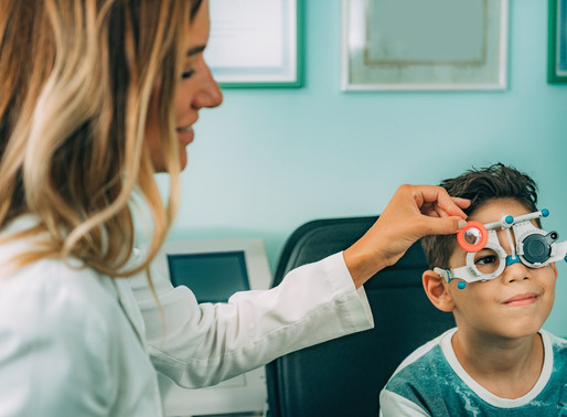 Have your children had their eye tested recently?