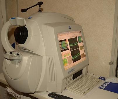 Zeiss Cirrus OCT Scan