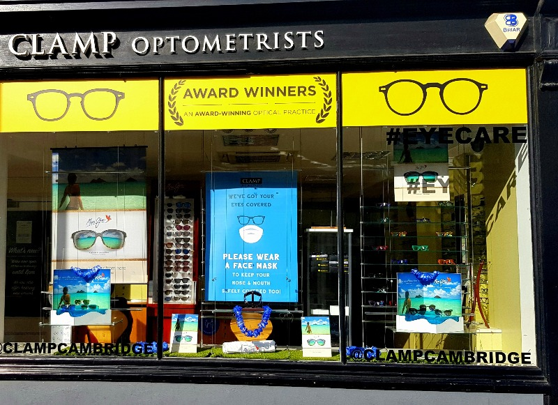Clamp Opticians - Shop Front