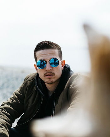 Men with sunglasses