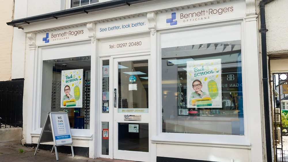 Bennett and Rogers Opticians Sidmouth