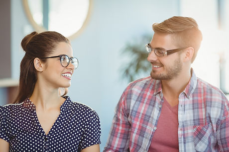 smiling-couple-wearing-spectacles-7NPBZC