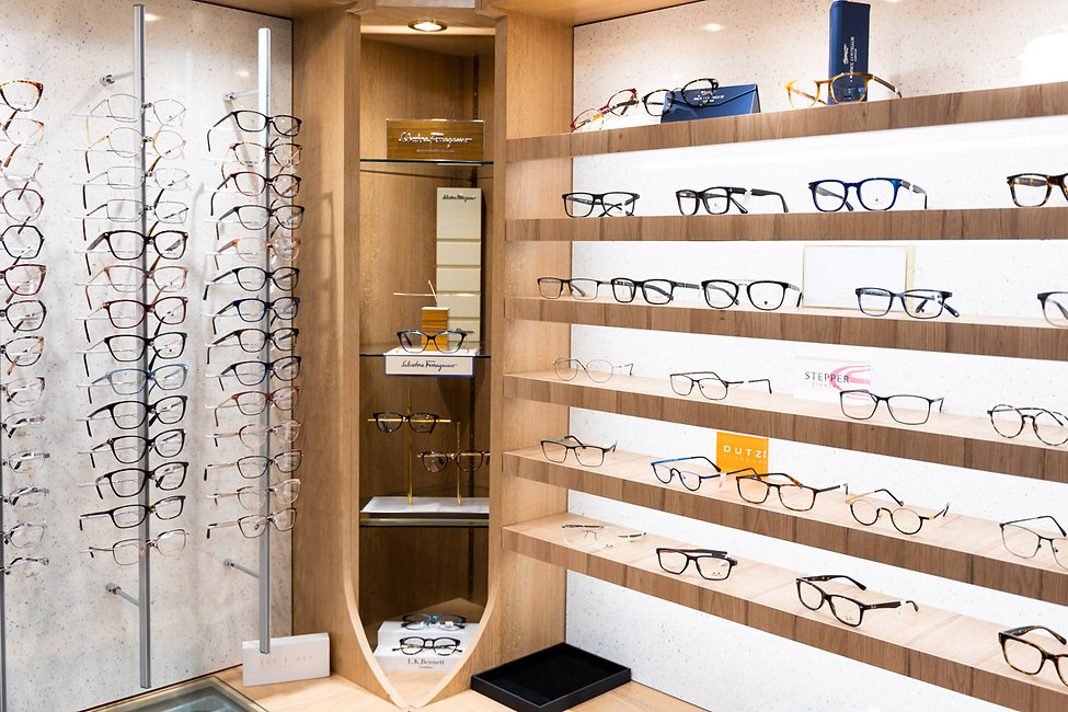 Heath Optometric Glasses Display