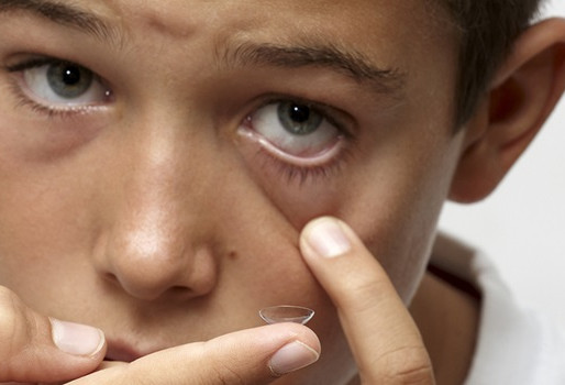 Contact lenses for children