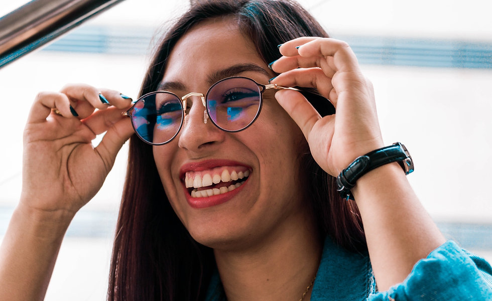 Attractive women wearing glasses from your independent opticians in Barrow