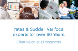 Yates & Suddell Varifocal experts for over 60 years