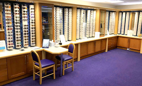 Glasses and frame selection