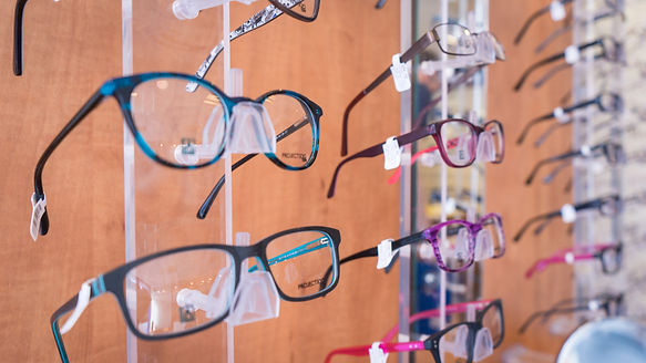 Richard Haynes Opticians - Glasses Display