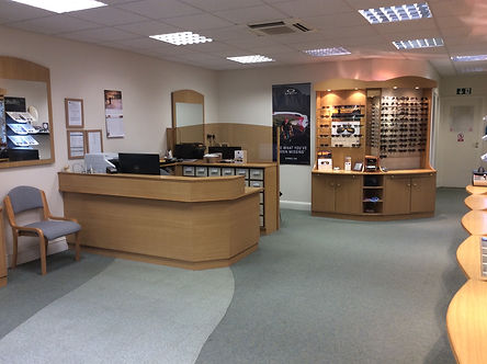 Peters opticians Interior