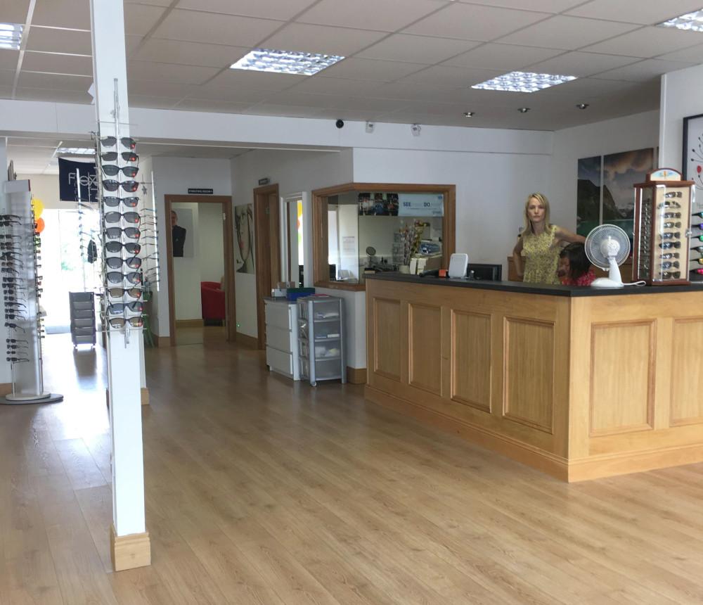 Maloney Keady Reception Area