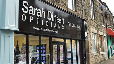 Sarah Dineen Opticians - Outside Our Practice