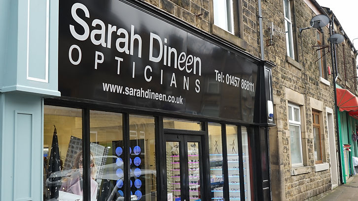 Serah Dineen Opticians - Outside Our Practice