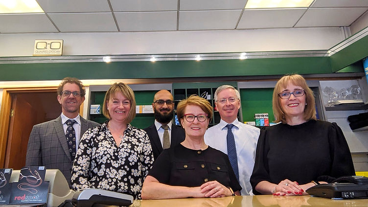 Welbourne Opticians Team