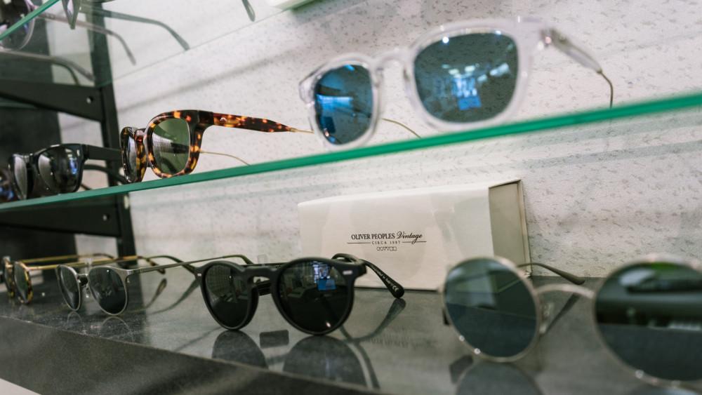 Eyelink opticians sunglasses selection
