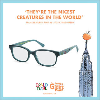 Roald Dahl Childrens Eyewear
