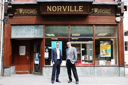 Norville Opticians Shop Front