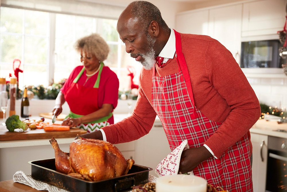 Christmas turkey includes healthy nutrients for your eyes