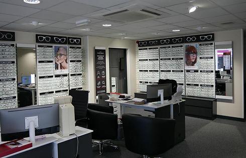 Conlons of Carrow Opticians Interior