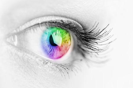 colorimetry testing for eyesight reading