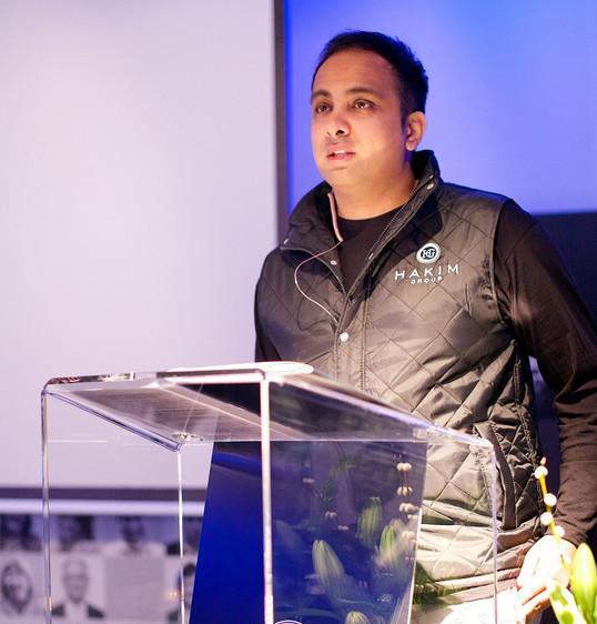 Imran Hakim public speaking