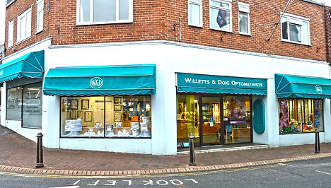 Opticians Isle of Wight - Willets and Doig exterior