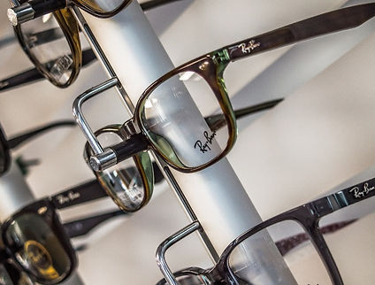 Selection of glasses frames