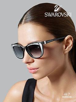 Women Wearing Swarovski Glasses