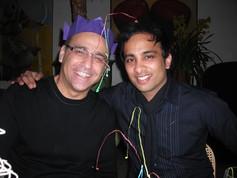 Theo Paphitis and Imran Hakim