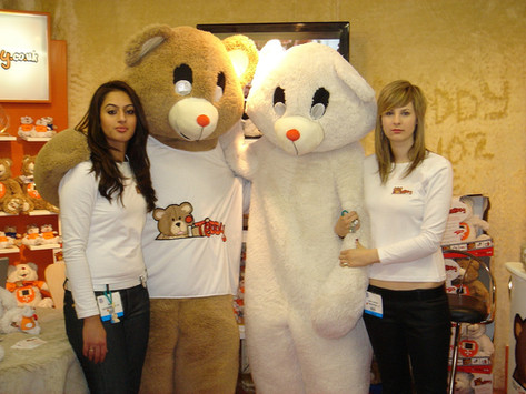 London Excel Toy Fair with iTeddy