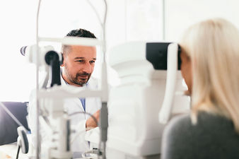 Women Having a Diabetic Screening