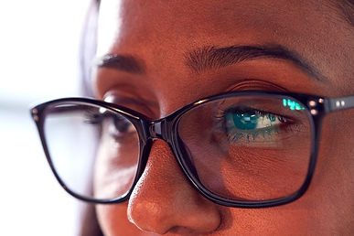 close-up-of-businesswoman-wearing-glasse