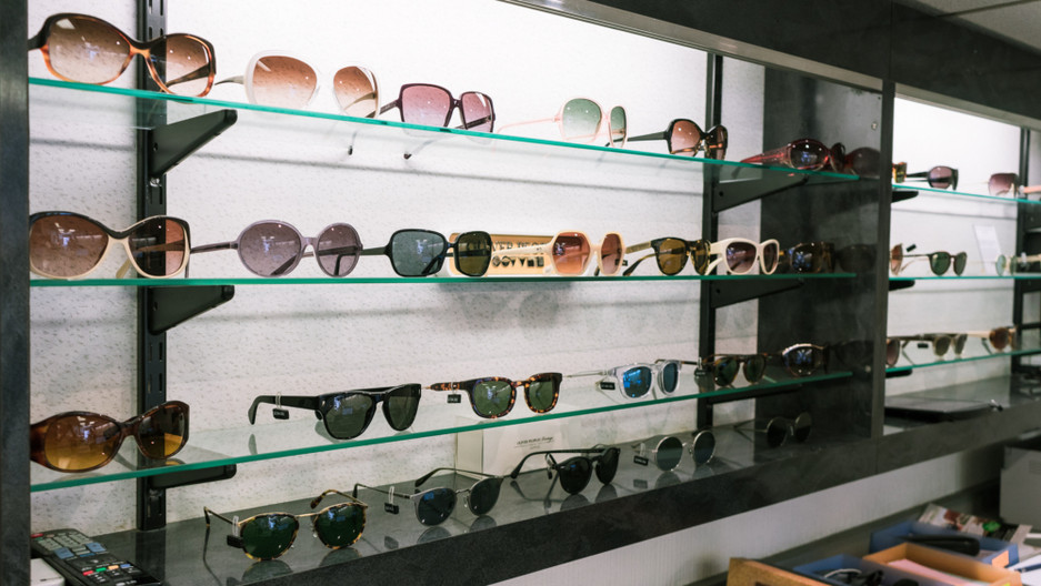 Eyelink opticians glasses selection