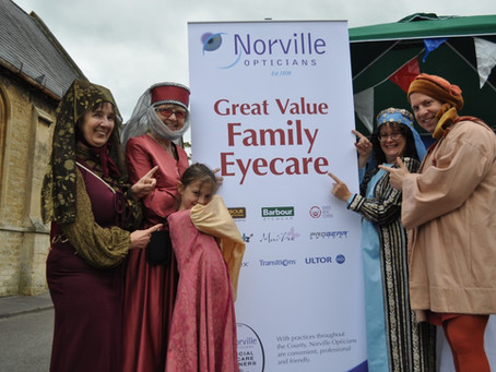 Norville Opticians steps back in time