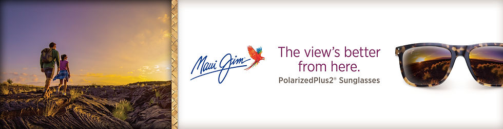 Maui Jim Glasses Website Banner