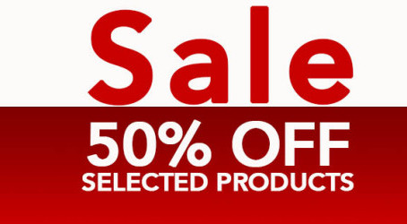 Sale Now On – 50% off Selected Frames