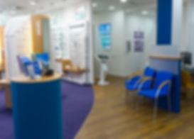 Inside Bury Opticians