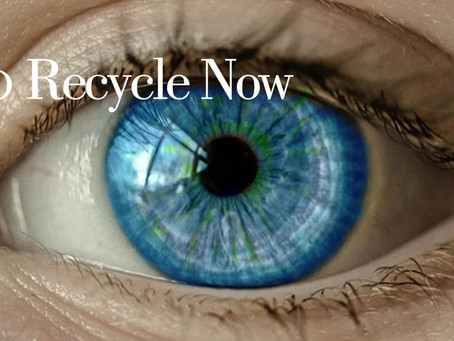 So recycle your contact lenses